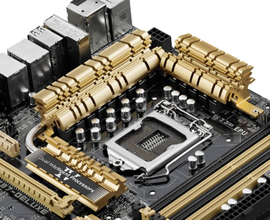 asus Z81 motherboard Asus announces new Gold Color theme for its upcoming motherboards based on the Intel Z87 chipset